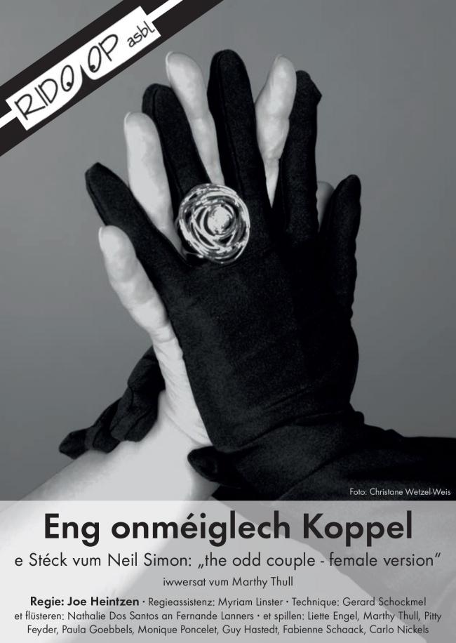 Plakat Eng onmeiglech Koppel