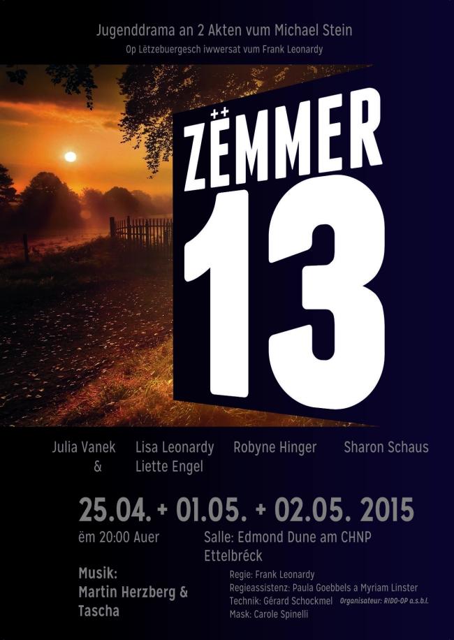Plakat Zemmer 13