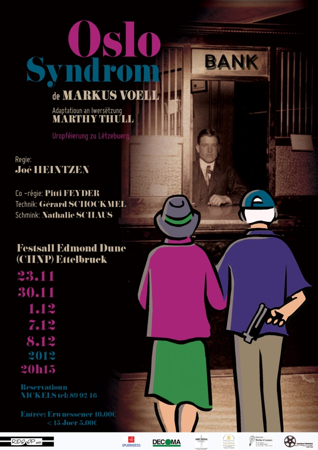 Plakat Oslo Syndrom