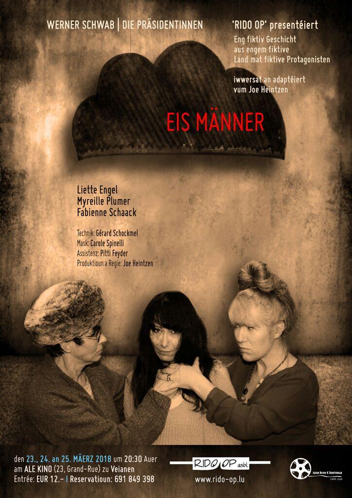 Plakat Eis Maenner